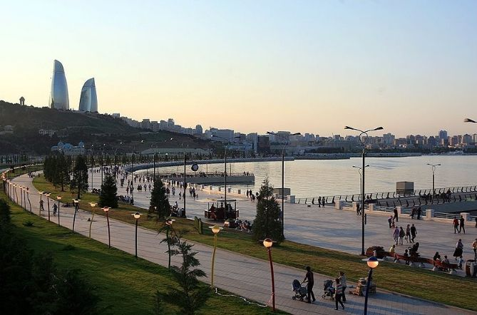 Baku tourism city