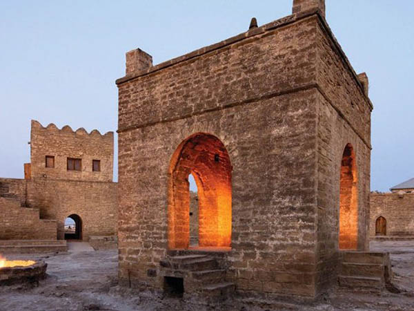Ateshgah – Temple of fire worshipers near Baku (Under the protection of UNESCO)