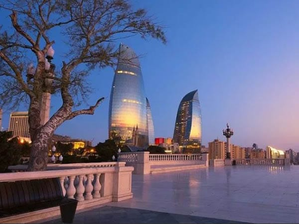 Baku Tourism City – Shirvanshah Palace, Maiden Tower, The Fountain Square
