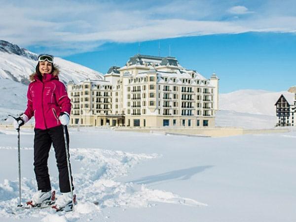 Горнолыжные курорты Азербайджана Шахдаг и Туфандаг