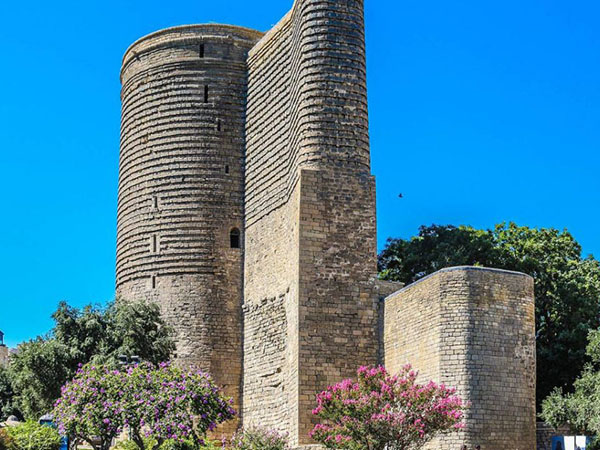 Historical palaces – Baku (Icherisheher, The Maiden's tower), Gabala, Gobustan